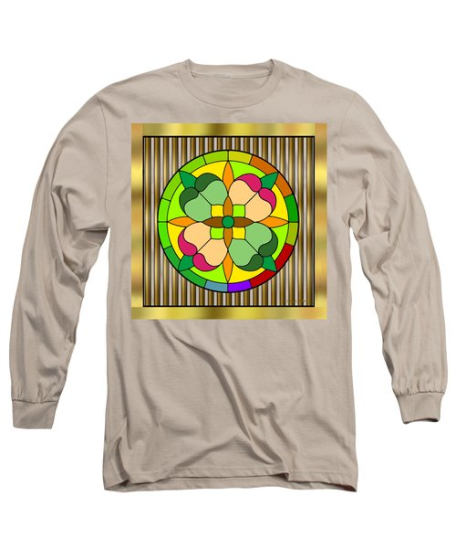 Circle On Bars 2 Long Sleeve T-Shirt