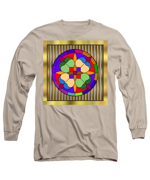 Circle On Bars 4 Long Sleeve T-Shirt