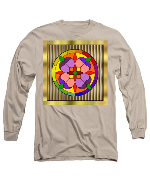 Circle On Bars Long Sleeve T-Shirt