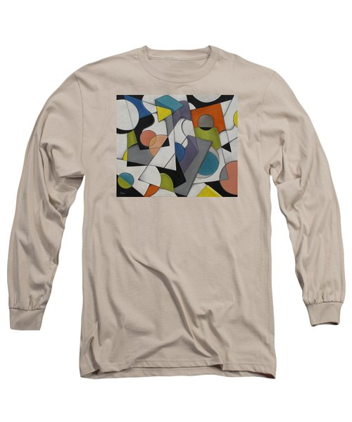 Circles Of Life Long Sleeve T-Shirt by Trish Toro