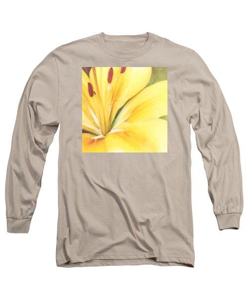 Citrine Blossom Long Sleeve T-Shirt