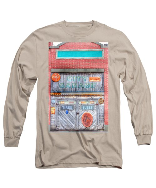 City Garage Long Sleeve T-Shirt by Toma Caul