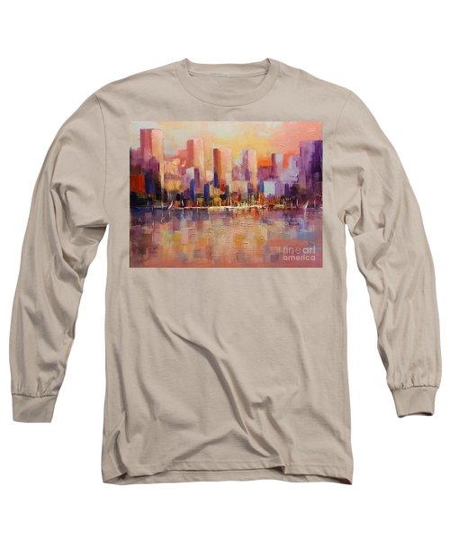 Cityscape 2 Long Sleeve T-Shirt