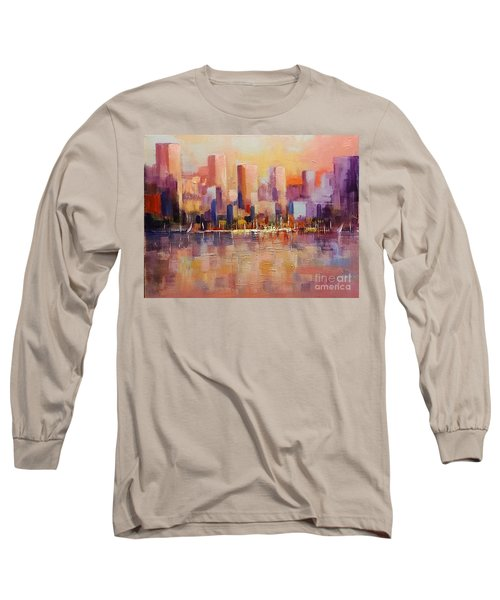 Cityscape 2 Long Sleeve T-Shirt