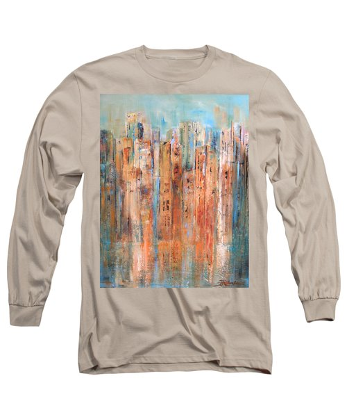 Cityscape #3 Long Sleeve T-Shirt