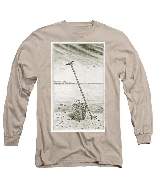 Clamming Long Sleeve T-Shirt