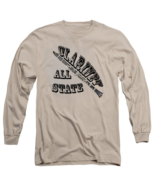 Clarinet All State Long Sleeve T-Shirt