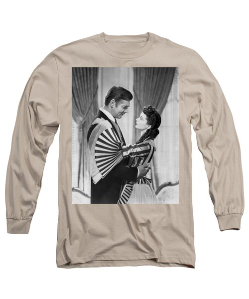 Clark Gable And Vivien Leigh Long Sleeve T-Shirt