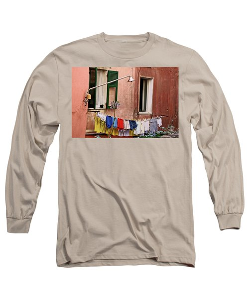Classic Hand Washing  Long Sleeve T-Shirt