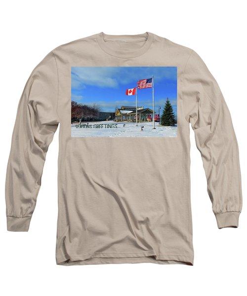 Clayton Seasons Greetings Long Sleeve T-Shirt