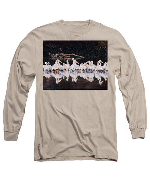 Clear Lake Pelicans Long Sleeve T-Shirt