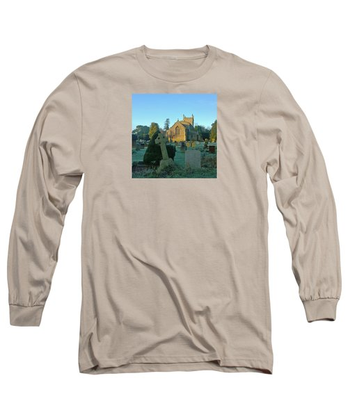Clear Light In The Graveyard Long Sleeve T-Shirt by Anne Kotan