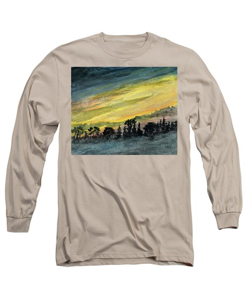 Clearing Storm Long Sleeve T-Shirt by R Kyllo