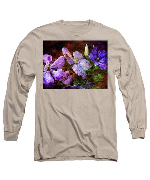 Clematis 1330 Idp_2 Long Sleeve T-Shirt