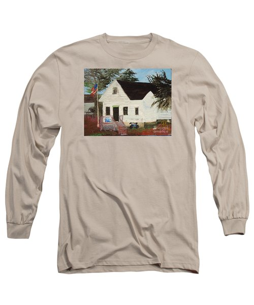 Cliff Island School Long Sleeve T-Shirt