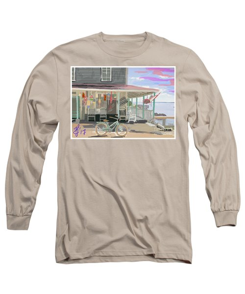 Cliff Island Store 2017 Long Sleeve T-Shirt
