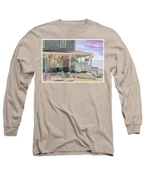 Cliff Island Store 2017 Long Sleeve T-Shirt