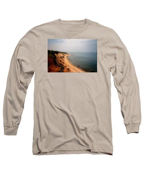 Cliffs Of Block Island Long Sleeve T-Shirt
