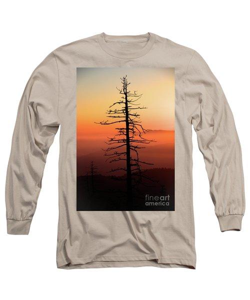 Long Sleeve T-Shirt featuring the photograph Clingman's Dome Sunrise by Douglas Stucky