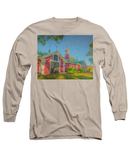 David Ames Clock Farm Long Sleeve T-Shirt