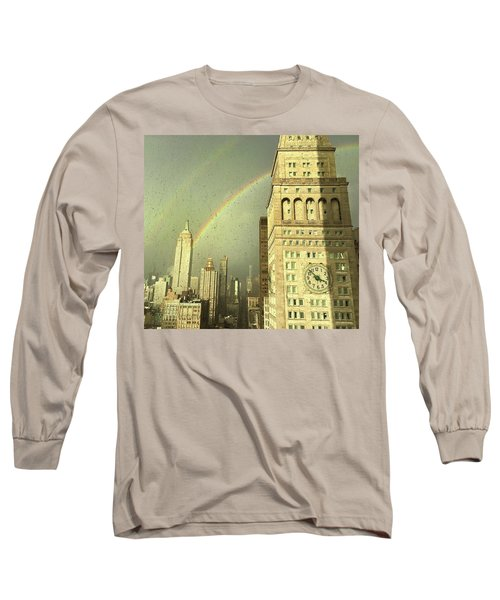 Clock Tower New York Long Sleeve T-Shirt