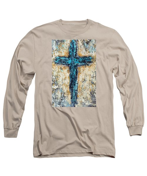 Clothe Yourself In Mercy Long Sleeve T-Shirt by Kirsten Reed