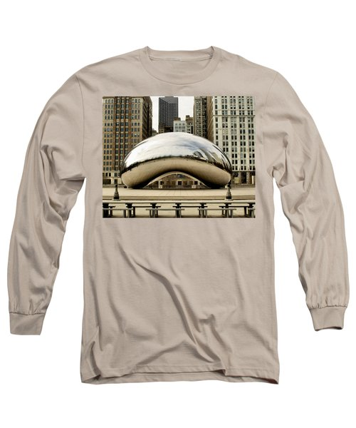 Cloud Gate - 3 Long Sleeve T-Shirt by Ely Arsha