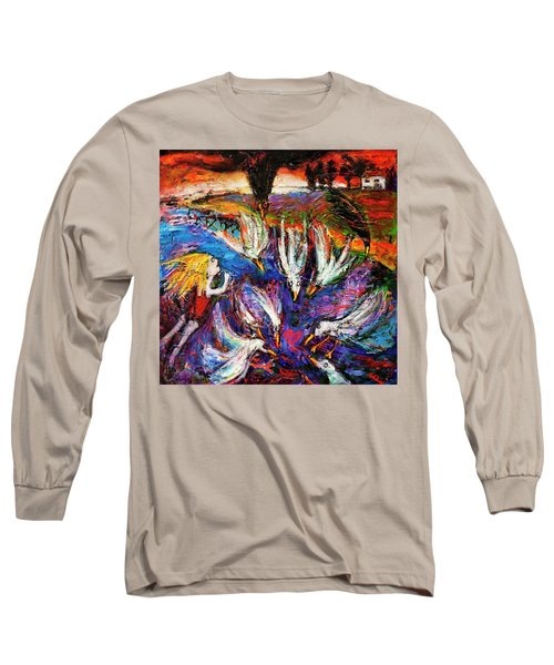 Cloud Street - Geraldton Seagulls Long Sleeve T-Shirt