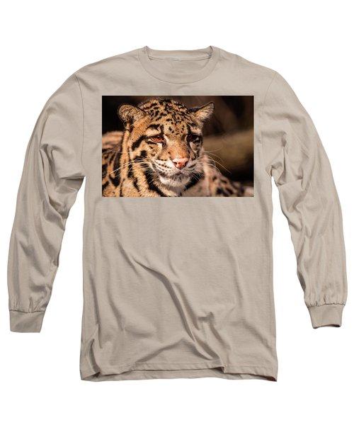 Clouded Leopard II Long Sleeve T-Shirt