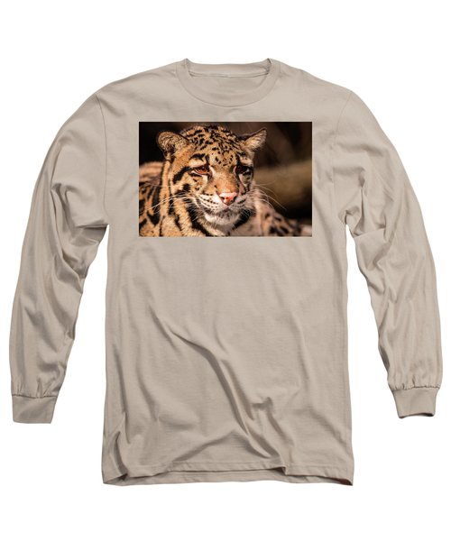 Clouded Leopard II Long Sleeve T-Shirt