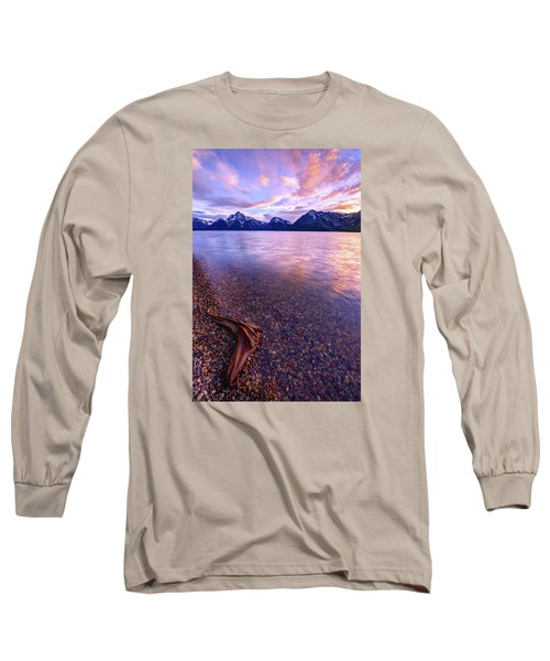 Clouds And Wind Long Sleeve T-Shirt by Chad Dutson