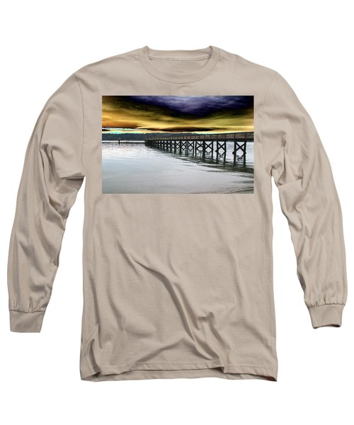 Clouds Over Illahee Long Sleeve T-Shirt by Tim Allen