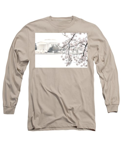 Cloudy With A Chance Of Tourists Long Sleeve T-Shirt