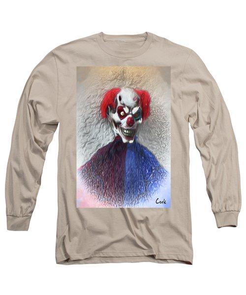 Clownitis Long Sleeve T-Shirt by Terry Cork