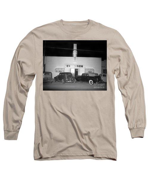 Club 526  Henry Franci, Salinas 1941 Long Sleeve T-Shirt