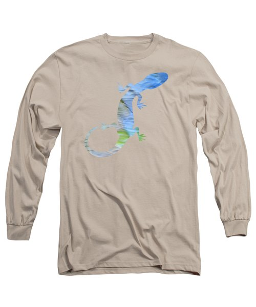 Long Sleeve T-Shirt featuring the photograph Coastline Mosaic Abstract Art by Christina Rollo