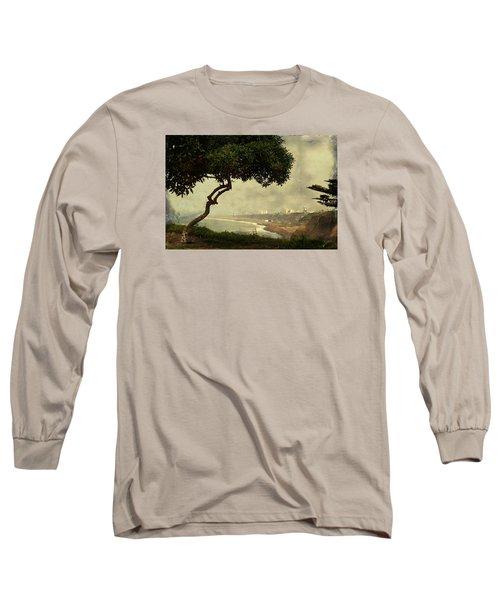 Coastline Of Lima, Peru Long Sleeve T-Shirt