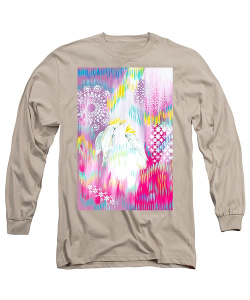 Cockatoos Long Sleeve T-Shirt by Cathy Jacobs