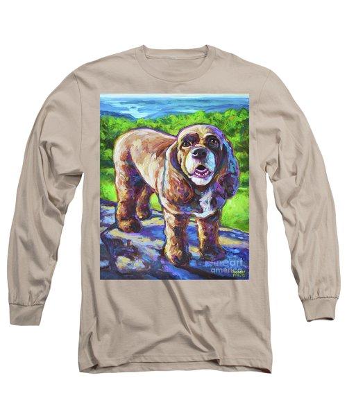 Cocker Spaniel  Long Sleeve T-Shirt by Robert Phelps