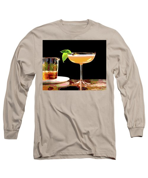 Cocktail And Dreams Long Sleeve T-Shirt