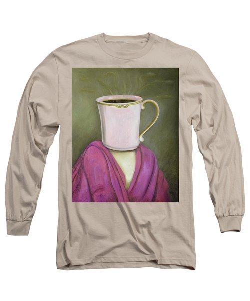 Coffee Head 2 Long Sleeve T-Shirt