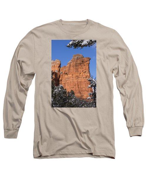 Coffee Pot Rock Long Sleeve T-Shirt by Laura Pratt