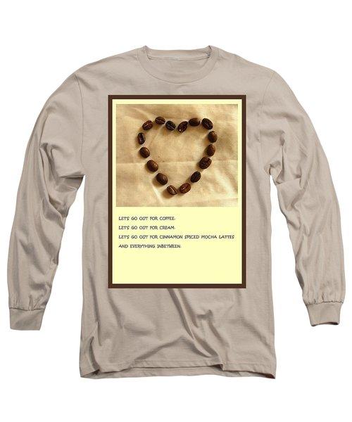 Coffee Shop Hopping Long Sleeve T-Shirt