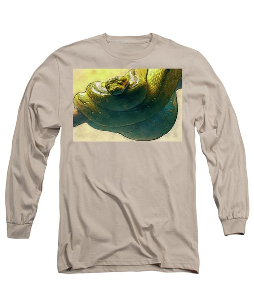 Coiled Long Sleeve T-Shirt by Jack Zulli