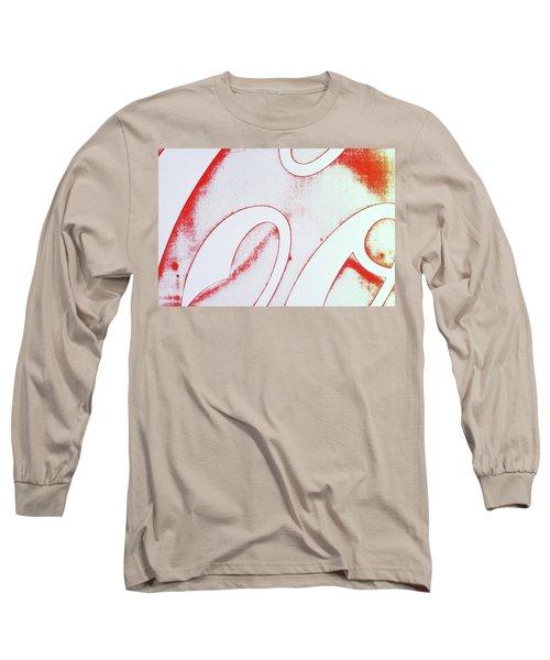 Coke 2 Long Sleeve T-Shirt by Laurie Stewart
