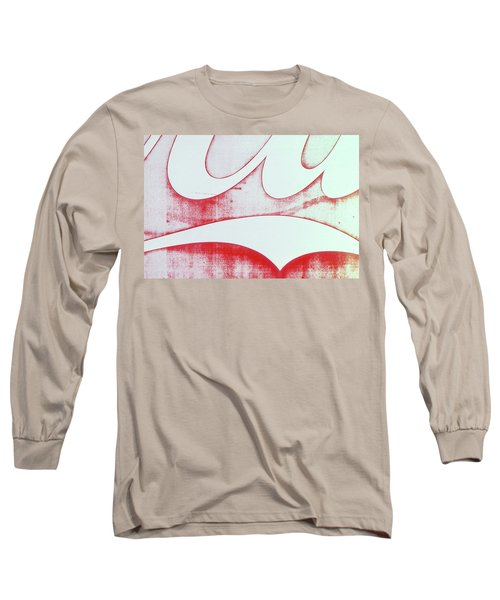 Long Sleeve T-Shirt featuring the photograph Coke 4 by Laurie Stewart