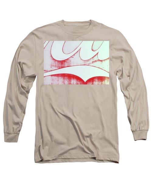 Coke 4 Long Sleeve T-Shirt by Laurie Stewart