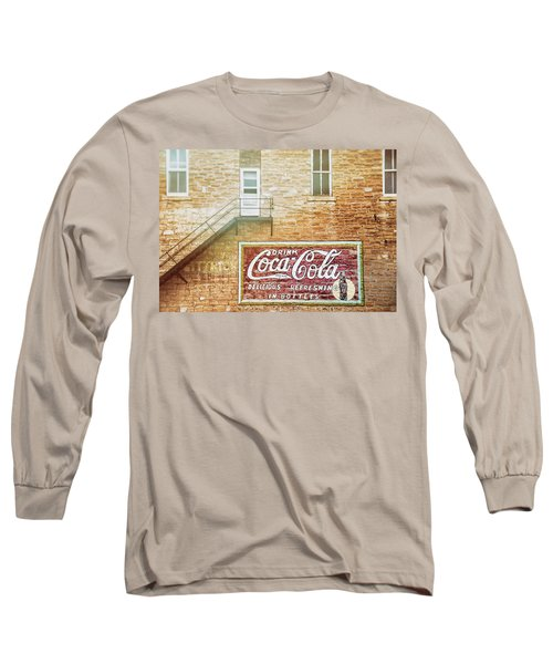 Long Sleeve T-Shirt featuring the photograph Coke Classic by Darren White