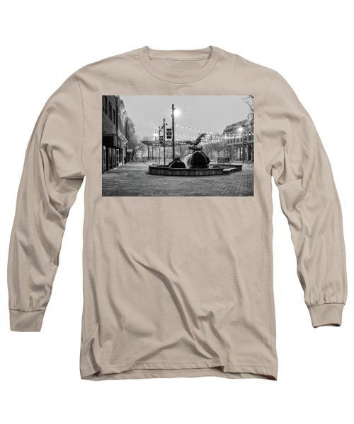 Cold And Foggy Morning Long Sleeve T-Shirt by Monte Stevens