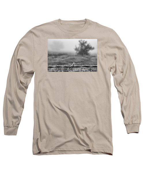 Cold Frosty Morning Long Sleeve T-Shirt by Monte Stevens